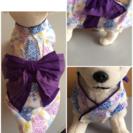 小型犬用の 浴衣