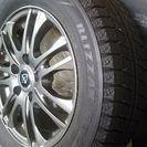 値下げ💴⤵ 美品スタッドレス タイヤ 185/65/15  4本セット