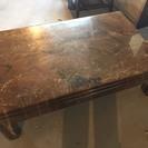 013103 重量感たっぷり!座卓テーブル