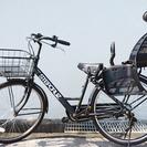 【最終値下げ】美品☆♬子供乗せ自転車♬ブリジストン☆ステップクルーズ♬