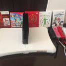 お得!Wii本体、コントローラー4個、ソフト5本のセット!