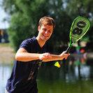 テニス、スカッシュ、バドミントンの要素を取り入れた新スポーツ「クロ...