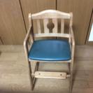 【カリモク】木製  子供用  椅子  ダイニングチェア