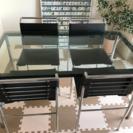 デザイナーズ家具 ル・コルビジェ LC10 ダイニングテーブルとア...