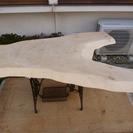 ★☆ 銘木一枚板 無垢材 玉杢 トチ テーブル 天板 ☆★