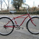 ♪ジモティー特価♪人気の26型ビーチクルーザー 中古自転車 新大阪...