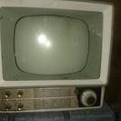 値下げします!1958年製 ナショナル テレビ  アンティーク