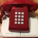 昔のプッシュ電話