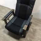 020400 1人掛け椅子 ブラック