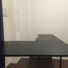 L字テーブル