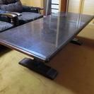応接用ローテーブル(木製)