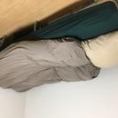 【無印良品含】 シングルのベッドセット 【すのこベッド+無印マット...