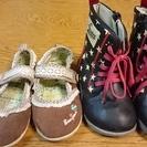 母子家庭の方に☆サイズ17 子供の靴 中古品