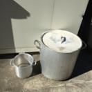 アルミ寸胴鍋蓋付 アルミ小型寸胴なべ 2セット
