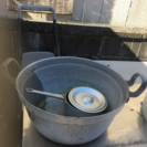 アルミ両手なべ 55㎝ アルミ片手鍋蓋付21㎝ 2セット