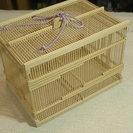 匠の竹細工 角型虫籠 「大谷山荘」で購入