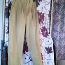 女子 作業服 ズボン 耐汚2重構造 撮影のため開封 未使用 5号