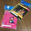 Disneyノートと鉛筆セット×2セット