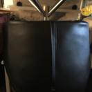 レザー回転椅子・ダイニングチェア・ブラック・モダン2/26まで値下げ