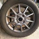 スタッドレスタイヤ 4本  155/65/R13 ブリザック RE...
