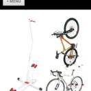 ミウラ 自転車スタンド 白