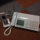 交渉中 パナソニック 固定電話&ファックス 子機付き