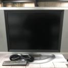 20インチ 液晶テレビ モニター、リモコン付き