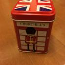 イギリス 電話ボックス 缶