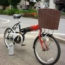 交換希望 使用回数少ない可愛いアシスト自転車です。