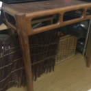 【500円】お洒落な木目テーブル