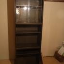 SHIRAI 本棚6段 アスコット180・60AGガラス