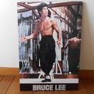 BRUCE LEE 燃えよドラゴン 木製パネル
