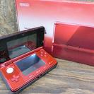 任天堂 3DS CTR-001 フレアレッド ゲーム機 充電器付き...