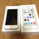 美品  iPhone5s  champagne gold