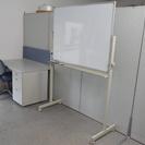 事務机&ホワイトボード セット