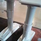 家具転倒防止用突っ張り棒 ポール 大型家具用(中古)2本