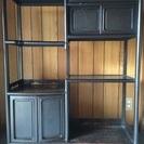 黒檀 飾り棚