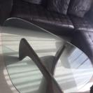お洒落なガラステーブル