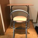 机 椅子セット 一人用