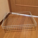 3個500円【取りに来れる方限定】無印良品 スチールバスケット×3...