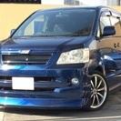H.14年 トヨタ ノア 2.0 X エアロ 18AW ブルー 走...