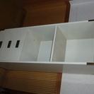 キャビネット(木製)白色