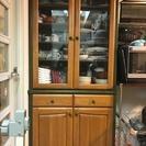 (最終値下げ)食器棚 高さ180 cm 幅 85 cm 奥行 40 cm