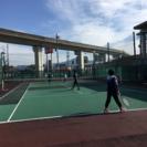 お昼にテニスがしたい人    初心者大歓迎!