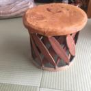 アジアンな椅子(値下げしました)