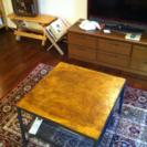 コーヒーテーブル 天板自作 60×60 オシャレですよ!