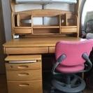 学習机と椅子 お譲りします。