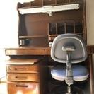 学習机と椅子 お譲りします