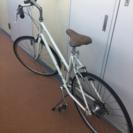 お引渡し済【ただであげます】パンクした自転車