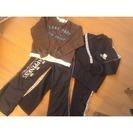 女児スポーツウェアセット(130)☆彡ジャージシャカシャカパンツ